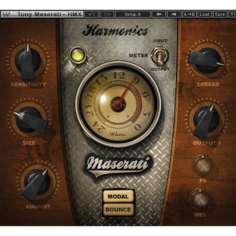 Waves Maserati Hmx Harmonic Generator Plug In Tmhmxsg