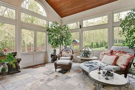 beautiful porches beautiful screened porch with tile porch ideas