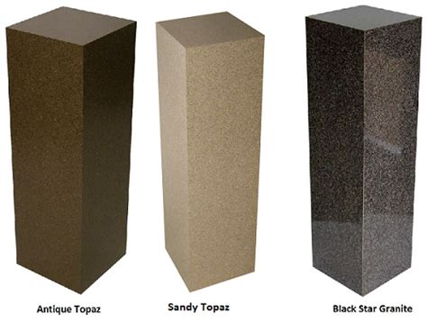 granite pedestal laminate pedestal laminated pedestal display