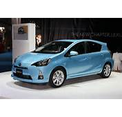 Live Photos Of The New Toyota Aqua Or Prius C From Tokyo Motor