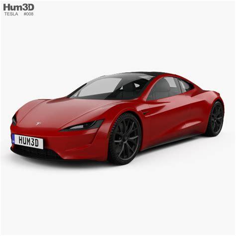 Tesla 2020 Roadster Pre Order by Tesla Roadster 2020 3d Model Vehicles On Hum3d