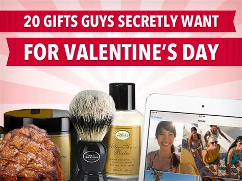 what to get guys on s day 20 gifts guys secretly want for s day business insider