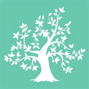 Tree Stencil Template kaisercraft stencils template tree