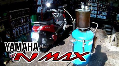engine oil change  method yamaha nmax youtube