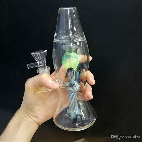 green lava lamp bong straight tube beaker bongs mini