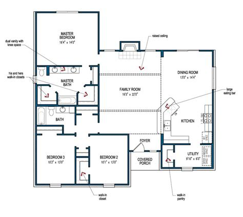 Tilson Floor Plans | pin by janice price on home mostly one level pinterest