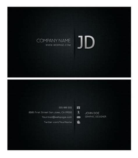 free black business card template psd 멋진 명함 템플릿 psd 계층화 된 기타 무료 psd 무료 다운로드