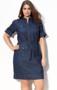 plus size denim dresses holiday dresses