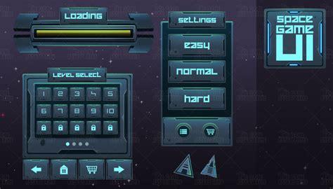 space game ui thegameassetsmine