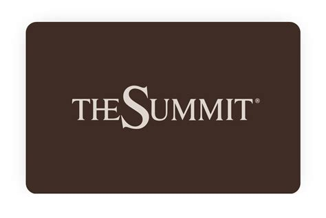 Summit Gift Card - about the summit birminghamthe summit birmingham