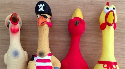 rubber chicken want better meetings meet helmut the rubber chicken atlassian