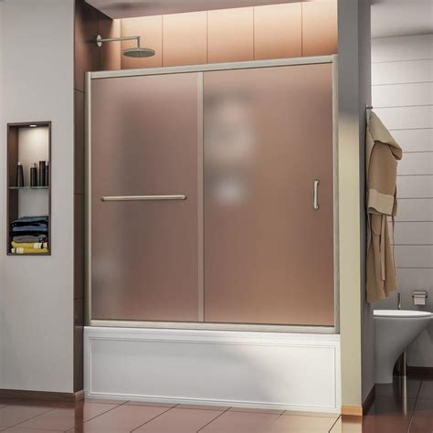 bathtub doors lowes bathtub doors lowes 28 images mirolin 53 in to 54 in w