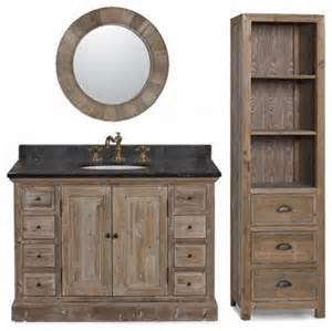 rustic bathroom vanity