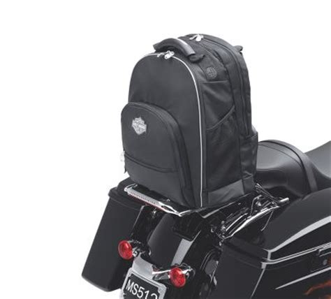 premium sissy bar backpack luggage official harley davidson store