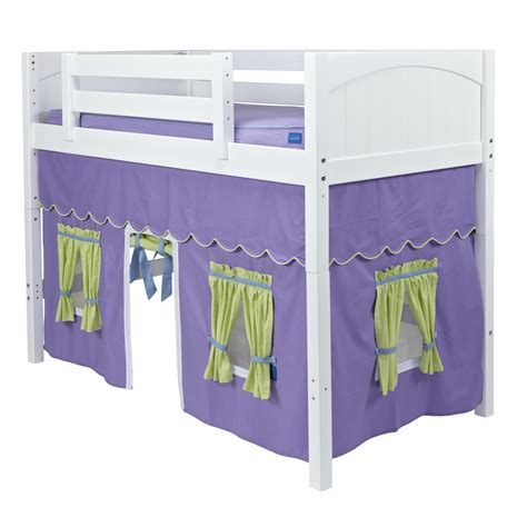 loft bed curtains kids maxtrix kids curtain colors