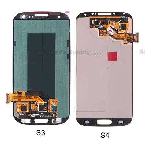 Lcd Samsung S4 I9500 Lcd Touchcrean Samsung Galaxy S4 I9500 galaxy s4 lcd assembly vs galaxy s3 lcd assembly back side 3 jpg