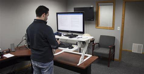 standing desk converter reviews top 6 most stable standing desk converters in 2017