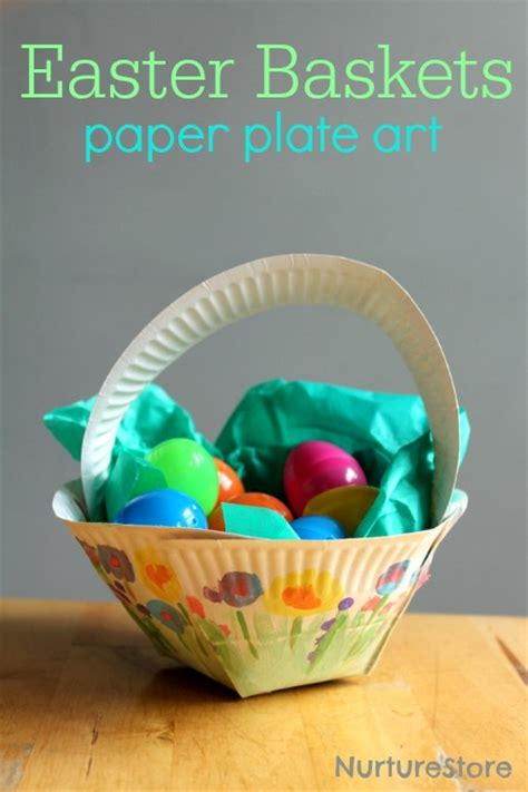 Easter Baskets With Paper Plates - 40 and fantastic paper plate crafts