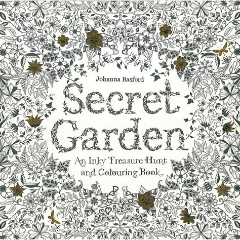 secret garden colouring book johanna basford secret garden an inky treasure hunt by johanna basford