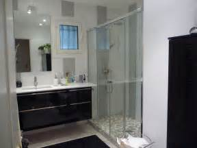 modele de salle de bain avec italienne et baignoire