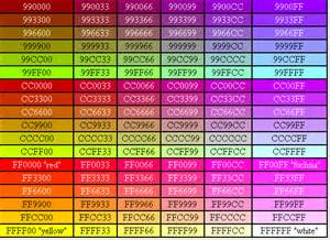 html color list image gallery http color codes
