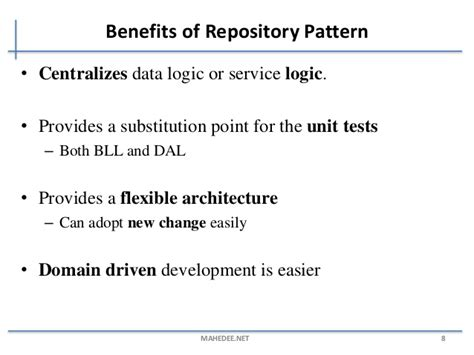 generic repository pattern joins generic repository pattern with asp net mvc and ef