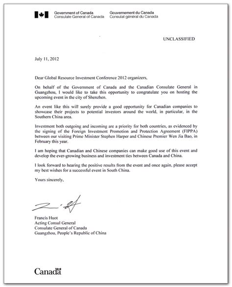 best photos of letter of invitation to canada canada