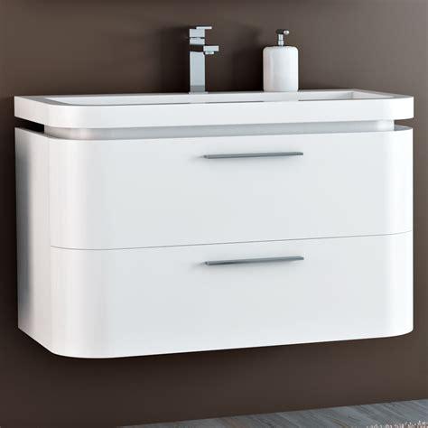 mobili x il bagno arredo bagno mobile saturno da 90 cm bordi stondati