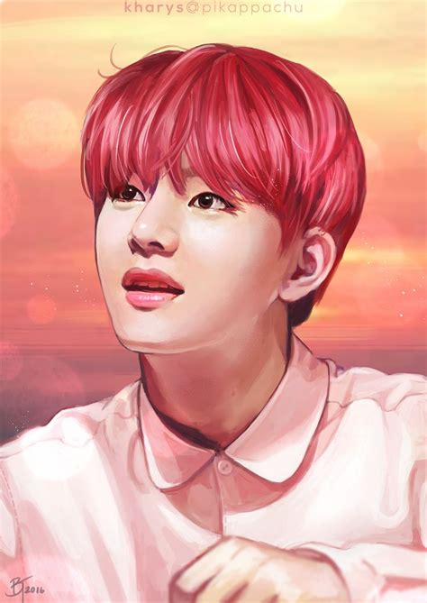 V Anime Fanart by 48 Best Bts V Fanart Fan Images On