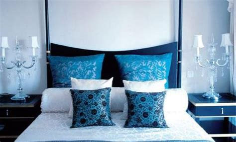 Blue White Bedroom Design Black Blue And White Bedroom Decosee