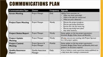 project communication plan template project kickoff meeting template ppt free free