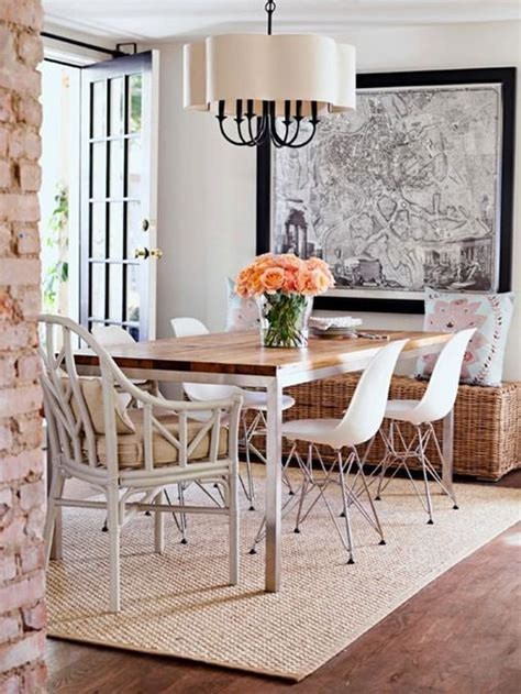 1000 images about dining rooms on dining rooms fiber rugs and wishbone chair