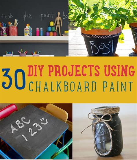 chalkboard paint craft projects 30 diy chalkboard paint projects diy ready