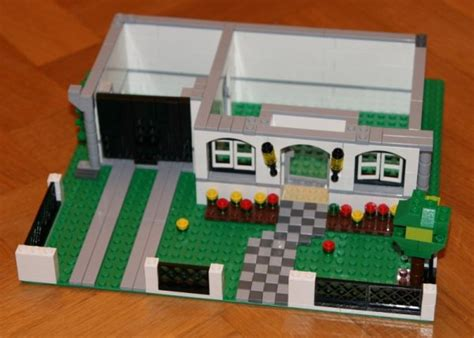 tutorial lego house building a lego house