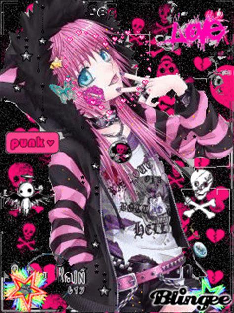 punk foe life anime girl picture 74009007 blingee com