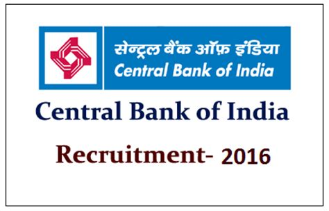 sc bank india central bank of india recruitment 2016 for 58 credit