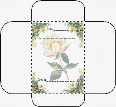 pattern for seed envelope envelopes and seeds on pinterest
