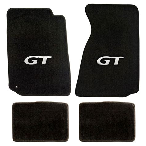 Ford Mustang Mats - new 1999 2004 ford mustang black floor mats with gt logo