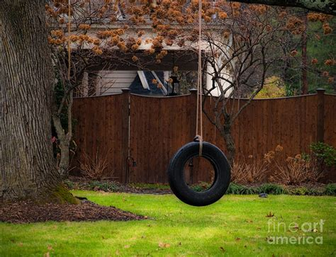 large tire swing tire swing photograph by valerie morrison