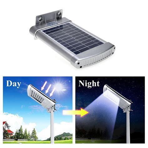 Solar Wall Mount Street Lights Outdoor Waterproof Deck