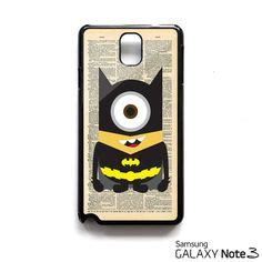 Casing Samsung Galaxy Note 3 Despicable Me Batman Minion Custom Hardca Find More Phone Bags Cases Information About