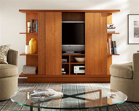 17 Stylish Ways To Store Your Tv Tv Cabinet With Doors To Hide Tv