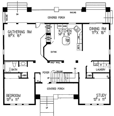 detailed house plans detailed two bedroom bungalow 81162w architectural