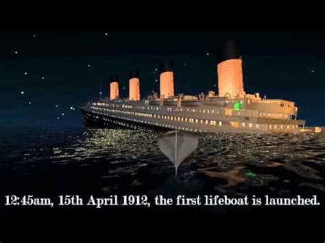 Titanic Sinking Theory by Sinking Of The Titanic Based On 2012 Theory