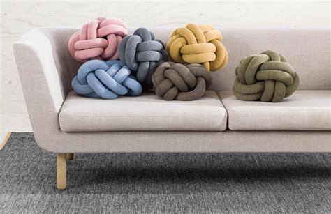 design house stockholm knot cushion leo bella design house stockholm knot cushion grey