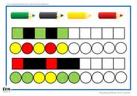 repeating patterns worksheet tes repeating pattern sequences by tesearlyyears uk teaching