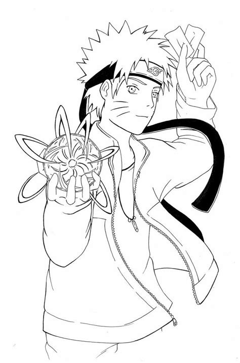 anime coloring pages naruto 17 best images about anime coloring pages on pinterest