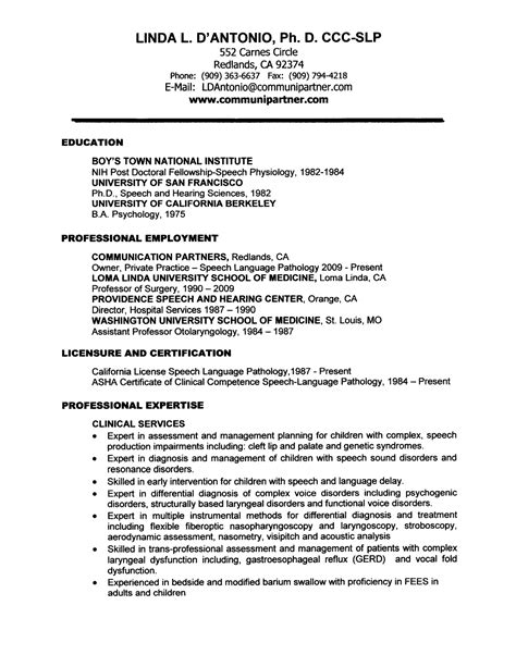Sle Resume For My Clinic Administrator Resume Sle My 28 Images School