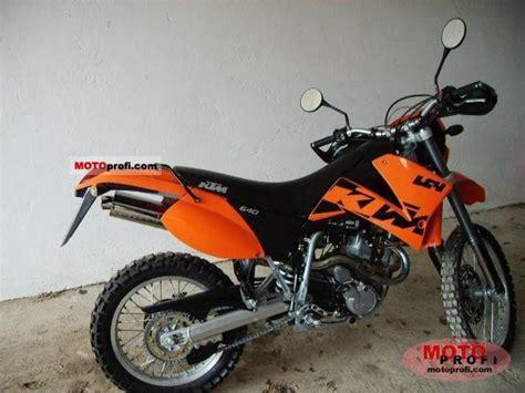 Motorrad Ktm 640 Lc4 Enduro by Ktm 640 Lc4 Enduro Technische Daten Des Motorrades