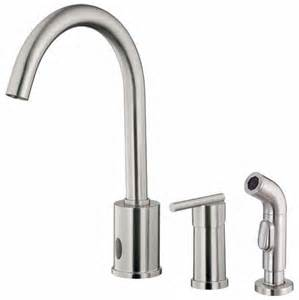 Faucets Direct Free Sensor Operated Kitchen Faucets